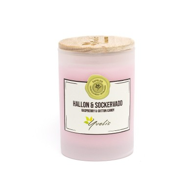 Raspberry & Cotton Candy Scented candle