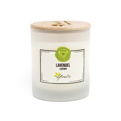 Lavander - Candle with essential oils