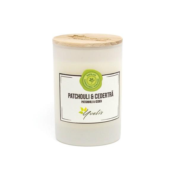 Essential scented candles - Patchouli & Cederträ - Eterisk doft