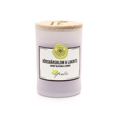 Körsbärsblom & Lakrits - Litet ljus