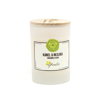 Essential scented candles - Kanel & Nejlika - Eterisk doft