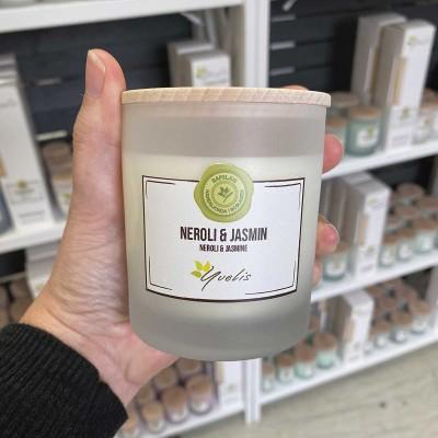 Essential scented candles - Neroli & Jasmin - Eterisk doft