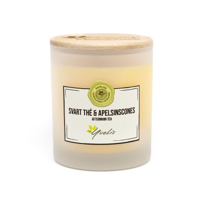Mellan ljus - Svart Thé & Apelsinscones