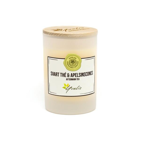 Litet ljus - Svart Thé & Apelsinscones